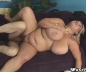 BBW Kacey Gets Cum..