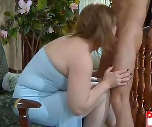 MOM FUCKS STEP-SON