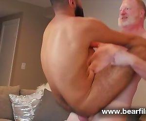 Ginger daddy fucks..