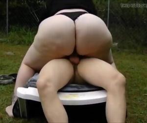 Amazing mature fat ass..
