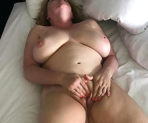 Horny Naked Wife Rubs..