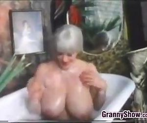 Busty Grandma In The..