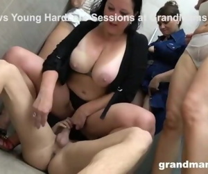 My First Grandma Orgy..