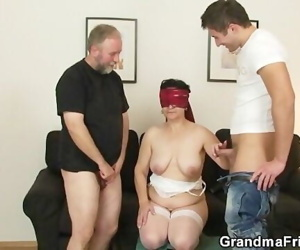 Granny gets her hairy..