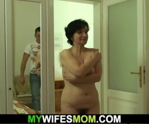 Hairy mother-in-law..