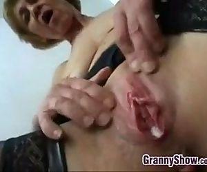 Dirty Grandma Fucking..