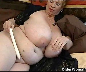 Fat granny Dagny with..