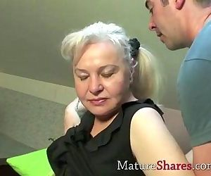 Exclusive granny porn..