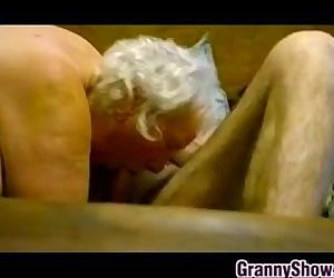 Thick Granny Riding On..