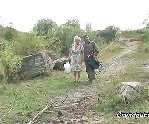 Mature couple having..