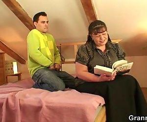 Busty bookworm bitch..
