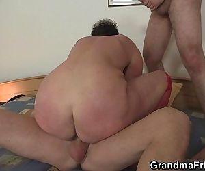 Hot granma takes two..