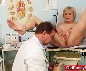 Elder grandma Brigita..