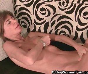 Skinny Grandma Massages..