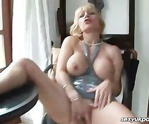 UK mature pornstar Jane..
