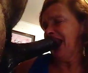 65 year old Deepthroat..