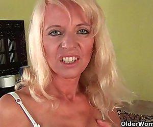 Sultry senior mom..
