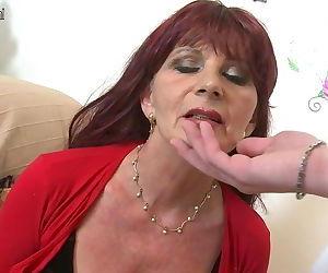 Naughty mature mom..