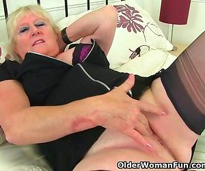 English granny Claire..