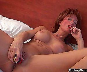Sultry grandma Nina..