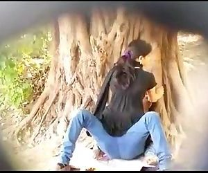 Desi couple outdoor sex..