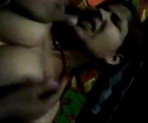 Desi Boob Massage -..