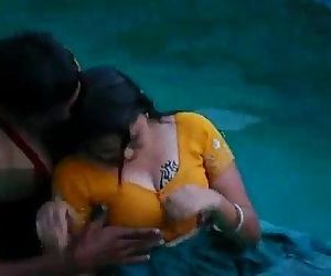 Lovers hot romance in..