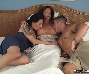 Mom Suckling her son..