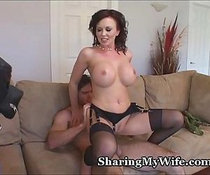 Hot Wife Shows Hubby..