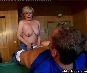 MILF Blond Woman - 1..