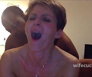 Skinny wife anal fuck -..
