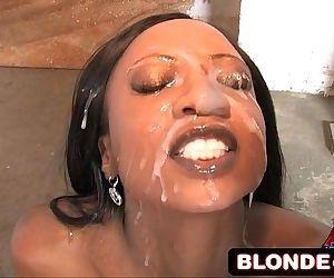 Ebony Girls Cumshot..