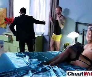 Horny Wife Cheats In..