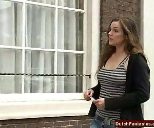 Dutch Teen Brunette..