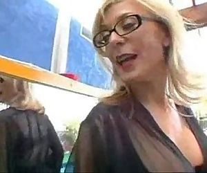 big boobs blonde milf