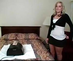 Sexy Blond secretary..