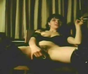 Hot Slut Wife Smokes..