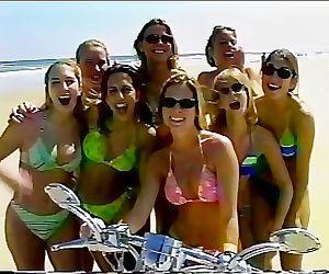 Biker Girls Going Crazy..