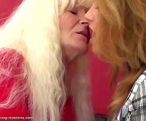 Old lesbian granny..