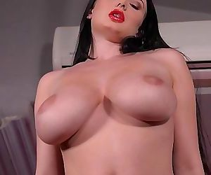 Cock-hungry hottie..