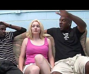 Young interracial