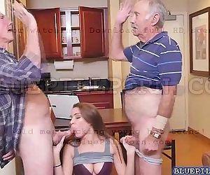 Horny old guys bangs..