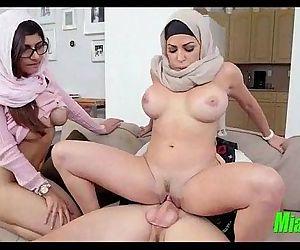 Mia Khalifa and her mom..