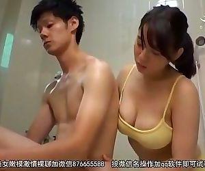 Japanese Mama And Son..