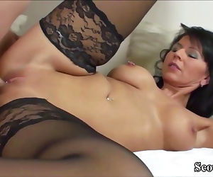 German MILF in..